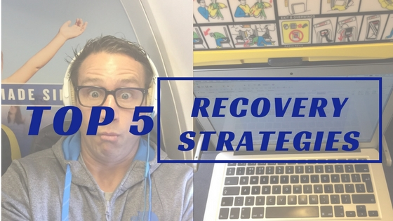 A Flying Lesson & My Top 5 Recovery Strategies